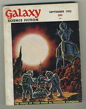 (40) GALAXY SCIENCE FICTION September 1953 Vol 6 N°6