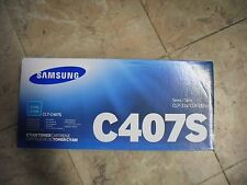New ! Genuine Samsung CLP 320 CLP 325 CLx 3180 CLX 3185 Cyan Toner CLT-C407S