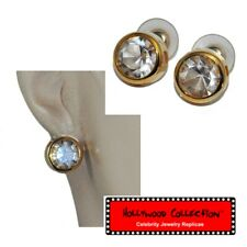 Hollywood Collection Earrings Color Gold Crystal Ginger Rogers Jewel