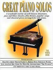 Great Piano Solos - The White Book *NEW* Music Inc. Into The West, Adagio