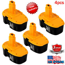 For DeWALT DC9096-2 18Volt XRP Ni-CD Cordless Battery DC9098 DC9099 DW9095 4Pack