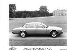 "JAGUAR SOVEREIGN 4.0L PRESS PHOTO ""BROCHURE RELATED"""