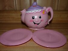 Fisher Price Talking, Musical toy tea pot  LAUGH AND LEARN, Say Please, vintage