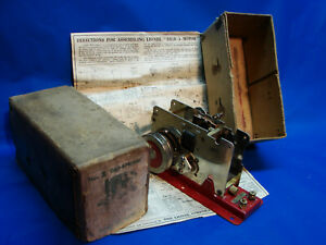 Scarce 1928 Prewar Lionel No.2 Standard Gauge Bild-a-Loco w/ Instructions, LN/OB