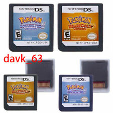 Pokemon Silver Soul Gold Heart Game Card for Nintendo 3DS/DSI NDS NDSL Lite