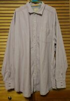 TOMMY BAHAMA JEANS 3XT One Long Weekend Long Sleeve Purple Striped Button Up