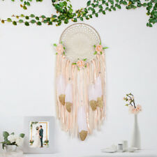 Chic Large Feather Dream Catcher Tassel Handmade Wall Hanging Home Car Decor