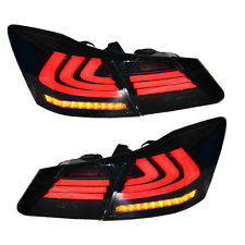 LED Tail Lights For Honda Accord 2013-2015 4 Door Sedan Rear Lights Smoked