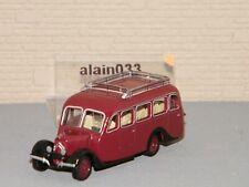 NOREV Citroën U23 Autocar 1947 Échelle 1:87 Voiture Miniature - Dark Red (159928)
