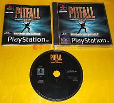 PITFALL 3D BEYOND THE JUNGLE Ps1 Versione Italiana 1ª Edizione ○○○○ COMPLETO
