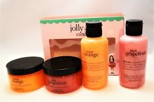 PHILOSOPHY Jolly Jelly Candy Gift SET Sweet Orange Pink Grapefruit Shower Scrubs
