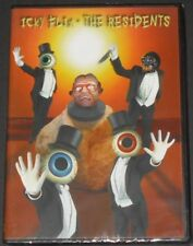 THE RESIDENTS icky flix USA DVD new sealed reissue NTSC compilation