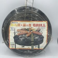 Vintage 1980s Table Top Bbq Grill Tail Gating Party By Marsh Allen 12 Inch