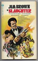 Slaughter by Henry Clement - 1972 MTI PBO - Jim Brown, Stella Stevens - 1st ed.