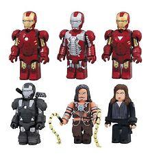 Iron Man 2 MK 4 5 6 War Machine Black Widow Whiplash Kubrick figure set Medicom