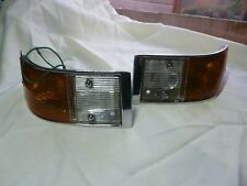 Triumph 2000 mk1 saloon frontside and indicator light asseblys new old stock