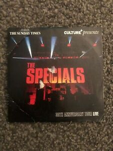 THE SPECIALS LIVE - RARE CD FREE WITH THE SUNDY TIMES