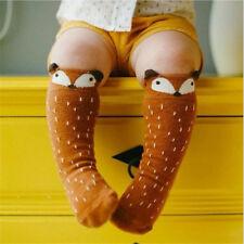 Children Girls Toddler Fox Socks Soft Knee High Hosiery Baby  Fashion Tights Leg