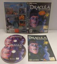 Gioco Game Computer PC CD-ROM ITALIANO Avventura Horror DRACULA La Risurrezione