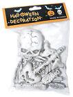 Small Skeleton Pack Bag Of Bones Big Skull Halloween Prop Decor Decoration