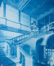 1896 Bedford Lemere & Co Cyanotype Intérieurs Anglais British Interiors Plate 44