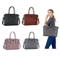 2019 Women Laptop Travel PU Tote Bags for 15.6-17 inch Macbook Notebook Handbag