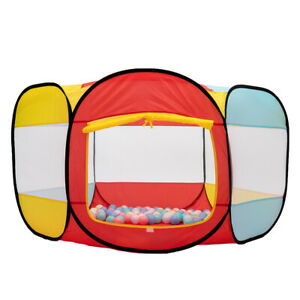 Folding Portable Playpen Baby Play Yard Tent With Travel Bag Indoor Outdoor SK