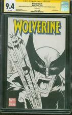 Wolverine 1 CGC 9.4 SS Sam De La Rosa Incredible Hulk 340 Original art sketch 8