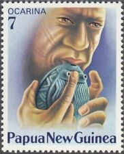 PAPUA NEW GUINEA - 1979 - Native Musical Instrument - Ocarina - MNH - Sc. #491