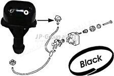 JP Windshield Washer Fluid Jet Front Black Plastic Fits VW 1500 1600 111955993