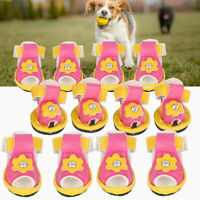 Sweat Absorbent Pet Dogs Puppy Summer Sandals Shoes Anti Skid Dog Shoes