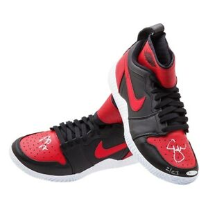 """Serena Williams Signed Autographed Nike Court Flare Shoes """"Aussie Open"""" #/23 UDA"""