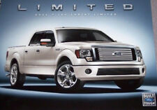 2011 FORD F 150 LARIAT LIMITED LITERATURE BROCHURE 2 SIDED 8 1/2 x 11  CARD