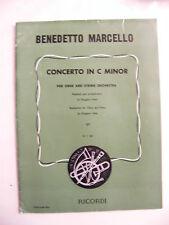 Partition Concerto in C minor Benedetto Marcello