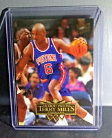 1995-96 Terry Mills Fleer Ultra #55 Basketball Card