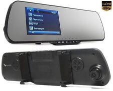 "FALCON HD70-LCD 4.3"" Full HD 1080p 3Mp DVR CAMERA VIDEO CAMARA GRABADORA Espejo"