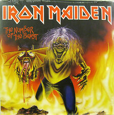 """IRON MAIDEN  """"THE NUMBER OF THE BEAST""""   7' reissue sealed"""