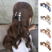 NEW Large Hair Claw Full Crystal Women Hairs Clip Hairpin Rhinestone Hair Clamp