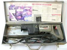 """PORTER CABLE Tiger Saw 737 Reciprocating Sawzall """"Quik-Change"""" w/Case & Blades"""