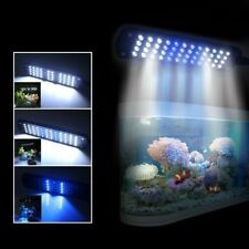 Adjustable Lighting Fish Tank Lamp Saltwater Aquarium Clip Supplies 48 LED Light