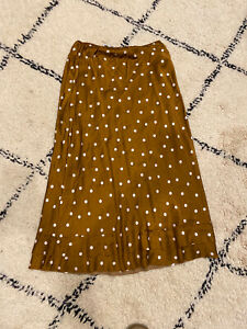 Lee Mathews Silk Slip Skirt Size 3