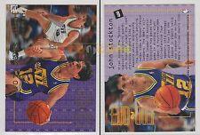 NBA FLEER 1995-1996 SERIES 2 - John Stockton, Jazz # 488 - Mint