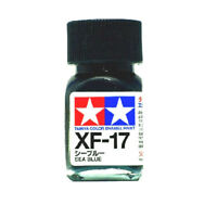 O TAMIYA COLOR FLAT ENAMEL PAINT XF-17 SEA BLUE Model Kit Paint Hobby New