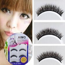 5 Pairs Short Extension Makeup Handmade Natural Thick False Eyelashes Eye Lashes