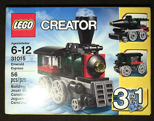 LEGO Creator Emerald Express 31015 3 in 1 Holiday Train Season Christmas NEW