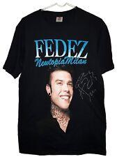 Fedez - Maglietta autografata dal grande Rapper - Autografo Originale Signed