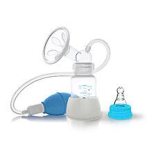 MILCHPUMPE mit Belüftungssystem + Babyflasche + GRATIS STILLEINLAGEN °NEU°