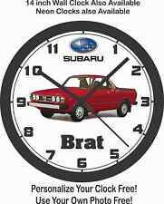 SUBARU BRAT PICKUP TRUCK WALL CLOCK-FREE USA SHIP