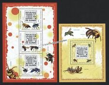 Briefmarken mit Insekten- & Schmetterlings-Motiven aus Guinea