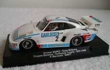 Sideways Porsche 935 K2 Team Willeme Gauloises Spa 1980 1:32 neu